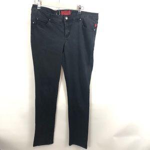 Tripp NYC Womens Skinny Jeans Goth 16